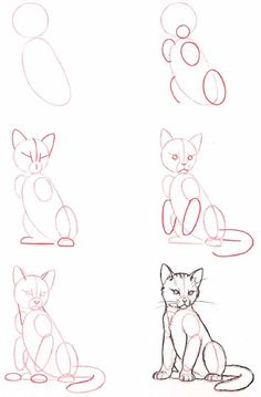 Draw a cat like an artist... Art Ed Central