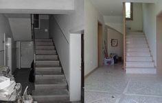 Prima&Dopo Ristrutturazione abitazione privata  Atrio ingresso