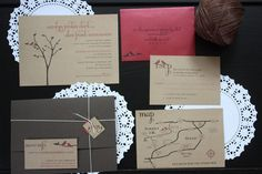 Introducing Our Labor Of Love - Invitations : wedding diy invitations stationery 1 1