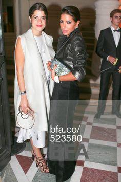 Leandra Medine, Princess Deena Al-Juhani Abdulaziz at MAC Carine Roitfeld Le Bal - ARRIVALS. #BFAnyc