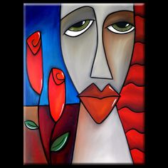 """Artist: Thomas Fedro  Title: """"Here To Stay""""  Size: 30"""" x 40"""" x 1 1/2""""  Media: Acrylic  Support: Stretched Gallery Wrap Canvas  Created: 2012  Edition: Original  Signed: Front & Back     READY TO HANG!     FREE USA SHIPPING"""