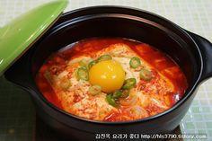 김진옥 요리가 좋다 :: 꽃샘추위 이겨낼~ 쉬운 찌개! 순두부찌개 끓이는 법