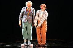"Balthazar and Sergey are the resident clowns of Cirque du Soleil's ""La Nouba. Downtown Disney, Walt Disney, Las Vegas Shows, Clowning Around, Dominique, Celine Dion, Costume, Photos, Clowns"