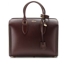 HEROINE LEATHER TOTE by ALEXANDER MCQUEEN
