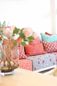 Design Team Fabrics Home Decor Shops, Home Decor Items, Interior Design Studio, Interior Design Inspiration, Scatter Cushions, Soft Furnishings, Modern Interior, Sweet Home, Pepper Tree