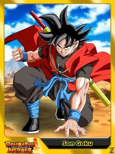 (Dragon Ball Heroes) Son Goku Xeno by el-maky-z.deviantart.com on @DeviantArt