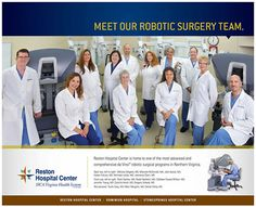 Melissa Delgado preforms surgery services for her patients at Reston Hospital Center they may also visit her at her clinic Gynecology & Wellness Center in Vienna, VA. Robotic Surgery, Laparoscopic Surgery, Wellness Center, Clinic