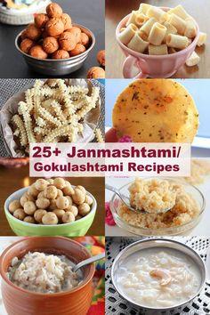 Janmashtami recipe collections include varieties of murukku, seedai, thattai, sweets and payasam/kheer. Fusion Food, Food Hacks, Vegetarian, Favorite Recipes, Recipe Collections, Dishes, Sweets Recipes, Cooking, Breakfast