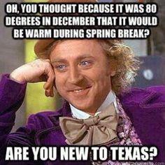 Spring Break in Texas
