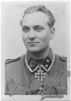 Also 20th Waffen Grenadier Division of the SS (1st Estonian) (20.Waffen-Grenadier-Division der SS (estnische Nr.1)) KC recipient Harald Nugiseks is still