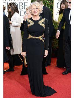 Golden Globes 2013 Best Dressed - Golden Globes 2013 Fashion - Redbook