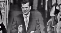 """Country Music Lyrics - Quotes - Songs Conway twitty - Incredibly Rare Footage Of Young Conway Twitty Performing """"It's Only Make Believe"""" - Youtube Music Videos http://countryrebel.com/blogs/videos/64627651-incredibly-rare-footage-of-young-conway-twitty-performing-its-only-make-believe"""