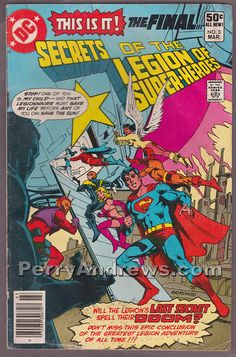 SECRETS OF THE LEGION OF SUPER-HEROES #3 comic book DC COMICS 1981