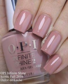 """If you're unfamiliar with nail trends and you hear the words """"coffin nails,"""" what comes to mind? It's not nails with coffins drawn on them. It's long nails with a square tip, and the look has. Gel Opi, Pink Gel Nails, Mauve Nails, Red Nail Polish, Toe Nails, Glitter Nails, Acrylic Nails, Coffin Nails, Purple Nails"""