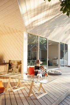 First built Atelier House near lake Hvitträsk in Finland