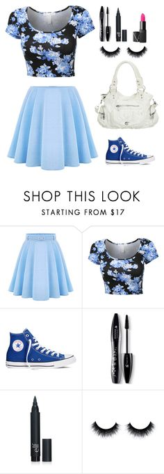 """""""Pretty collection   10"""" by looloolenche ❤ liked on Polyvore featuring WithChic, Converse, Lancôme, women's clothing, women's fashion, women, female, woman, misses and juniors"""