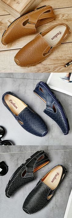 Big Size Men Driving Shoes Genuine Leather Good Quality Soft Men Loafers Comfortable Brown Yellow Blue White Plus Size 45 46 47