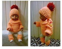 34 Besten Puppenkleider Bilder Auf Pinterest Strickmuster