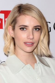 """12/01/2015 - Emma Roberts - Godiva Chocolatier's """"Hot Cocoa for a Cause"""" with Emma Roberts Benefiting Toys for Tots Foundation - Godiva Chocolatier - Los Angeles, CA, USA - Keywords: Headshot, Jewelry, Light Green Dress, Shoulder Length Wavy Blond Hair, Gold Stud Earrings, Vertical, Hot Chocolate, California, Portrait, Photography, Charity, Fundraiser, Fundraising, Universal City, Arts Culture and Entertainment, Attending, Actress, Woman, Person, People, Celebrities, Celebrity, Toys For…"""