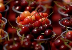 Traverse City, MI, home to the annual the National Cherry Festival.