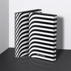 Nuuna PRET A ECRIRE Graphic L notebook Black 'n White Stripes notebook. The look in bonded leather made a splash and full attention - it is too strong, you're too weak! Buy Stationery Online, Stationery Shop, Grid Layouts, Pret, Notebook Covers, A5 Notebook, Screen Design, Leather Notebook, Bonded Leather