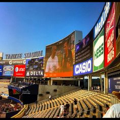 Yankee Stadium...section 203