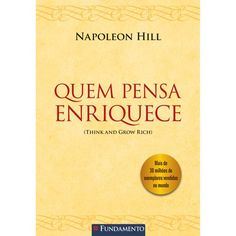 There's so much knowledge about how to succeed in internet marketing, the truth is it is. Napoleon Hill, Good Books, Books To Read, My Books, Think And Grow Rich, How To Use Facebook, Learning Styles, Literary Quotes, Personal Development