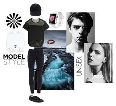 """Monochrome"" by coopdogxo on Polyvore featuring adidas, Paige Denim, Proenza Schouler, NOVICA and Vans"