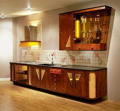 Bilder för 411906. KÖK SAMT MATSALSBORD, Art Decostil. – Auctionet