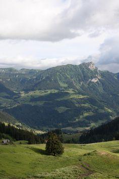 Mycke Schweiz, men det är så fint där.