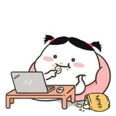 Cute Bunny Cartoon, Cute Cartoon Pictures, Cartoon Pics, Cartoon Jokes, Cute Little Drawings, Cute Cartoon Drawings, Cute Emoji Wallpaper, Cute Cartoon Wallpapers, Chibi Cat