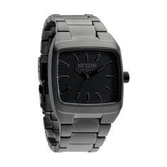 new arrivals 303e9 e4aad Nixon THE MANUAL MATTE BLACKMATTE GUNMETAL Watch A244 1062 Casio Watch,  Well Dressed