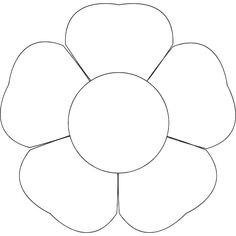 Flower Template 3 002 See the category to find more printable coloring sheets. Also, you could use the search box to find what you want. Shape Templates, Templates Printable Free, Printables, Owl Templates, Template Site, Applique Templates, Applique Patterns, Blogger Templates, Coloring Pages For Kids