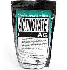 Actinovate fungicide is great for killing fungus that grows on your plants in your backyard garden.