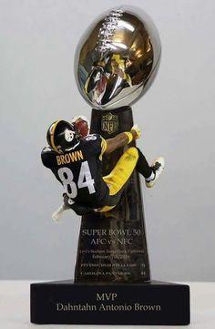 MVP, Antonio Brown!  Lol!