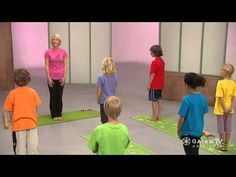 Yoga for Kids with Sara Vance: Growing Like a Flower in Spring Yoga #yogaforkids