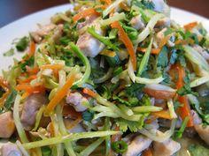 Рецепт салата курица в апельсинах