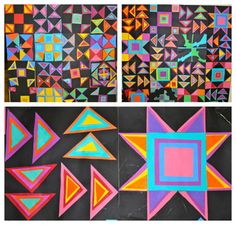 My 4th and 5th grade students created a freedom quilt square for their class quilts last year during Black History Month. We started out the project by reading The Patchwork Path: A Quilt Map to Fr...