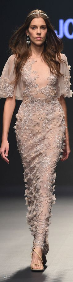 Spring 2018 RTW Joao Rolo Fashion 2018, Spring Fashion, High Fashion, Fashion Show, Fashion Outfits, Women's Fashion, Pink Spring Dresses, Flower Dresses, Pretty Dresses