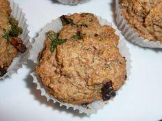Muffiny razowe z bazylią i suszonymi pomidorami   DIETA ZDROWYCH KALORII