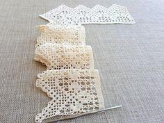 Hand crocheted border in your desired length, filet crochet lace trim, linear or turning edge for home décor, wide lace border, cream fine crochet handmade edging. Such an elegant and delicate look! This nice crochet border has vintage accents and is made by me using filet technique