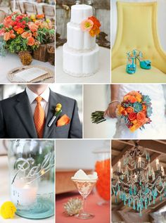 Another color combo....October wedding