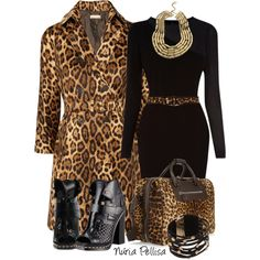Leopard Outfits, Animal Print Outfits, Leopard Fashion, Animal Prints, Classy Outfits, Chic Outfits, Fall Outfits, Fashion Outfits, Womens Fashion