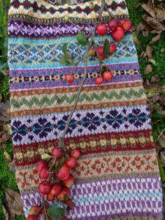 Fair isle on Pinterest Fair Isles, Rowan and Fair Isle Knitting