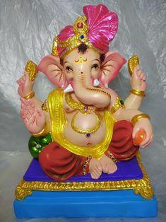 Ganesh Lord, Sri Ganesh, Ganesha Pictures, Ganesha Painting, Ganpati Bappa, God Pictures, Festivals, Om, Spirituality