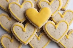 lemon cut out cookies