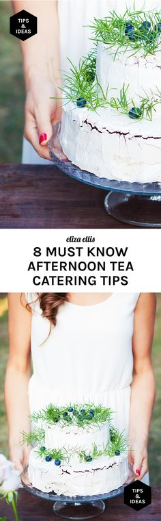 Eight Must Know Afternoon Tea Catering Tips - I've found all these tips to be so useful when catering, and I hope you do to! by Eliza Ellis