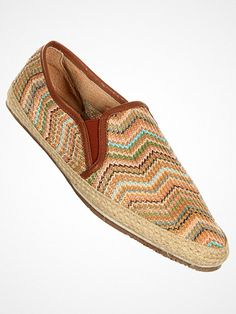 2012.06.24. Multi colored slip on canvas shoes from Hudson. Perfect for the beach as well as for the after beach drinks.