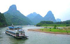 Li River cruise - Guilin, China