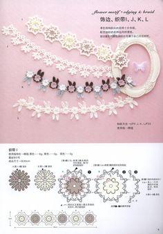 crochet flower ending pattern by LibraryPatterns